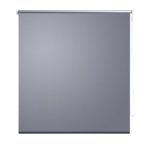 Roller Blind Blackout 100 x 175 cm Grey