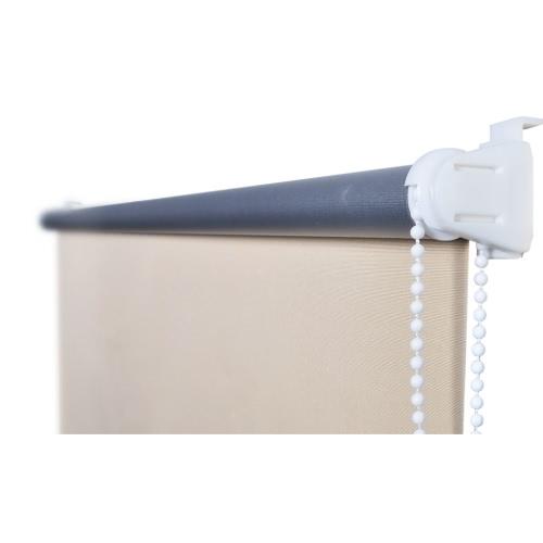 Ролик Слепой Затемненные 120 х 230 см Бежевый