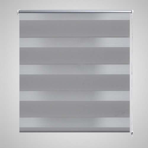 Zebra Blind 40 x 100 cm Grey