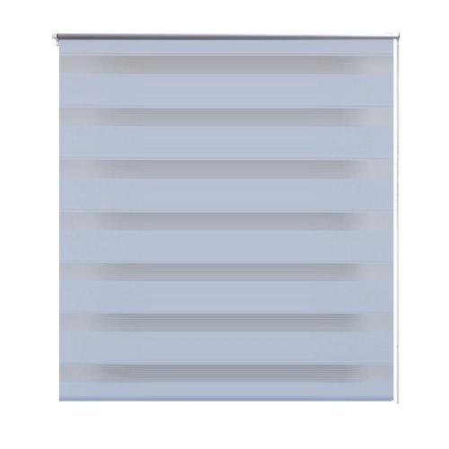 Zebra Blind 50 x 100 cm White