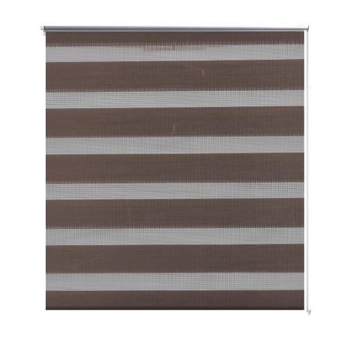 Zebra Blind 80 x 150 cm Coffee