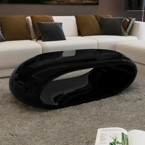 Coffee Table Hollow Black