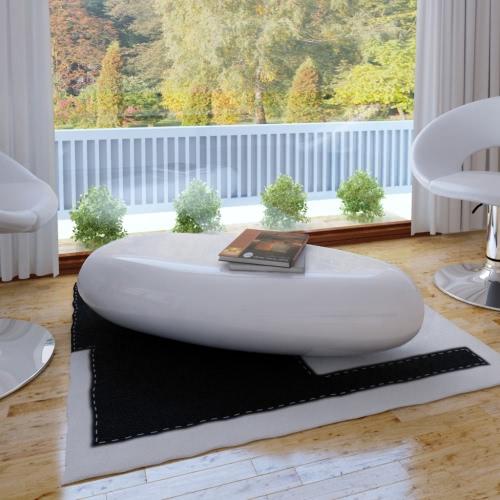 Журнальный столик Стекловолокно Белый