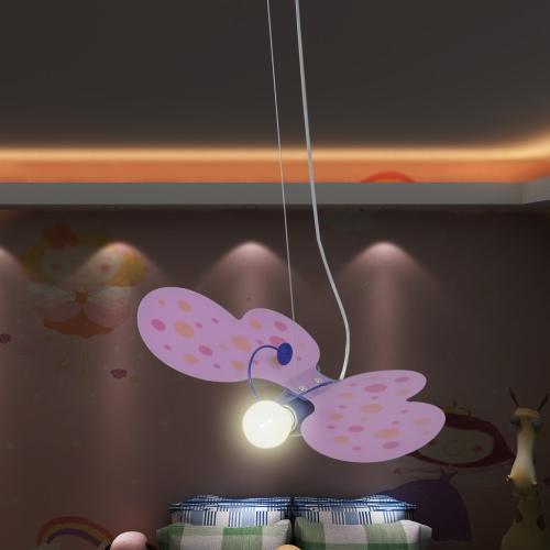 Kid's Bedroom Butterfly Model Pendant/Ceiling Light/Lamp Fixture