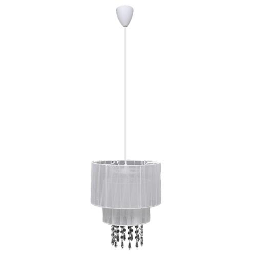 Подвеска потолочная лампа Люстра Кристалл белый