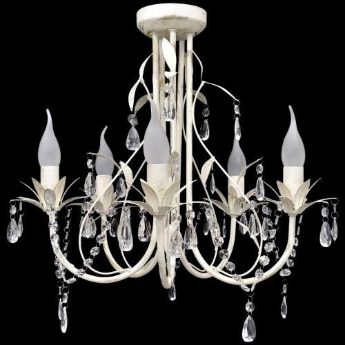 Подвеска Кристалл потолочные лампы Люстра Элегантный 5 Шарик Sockets