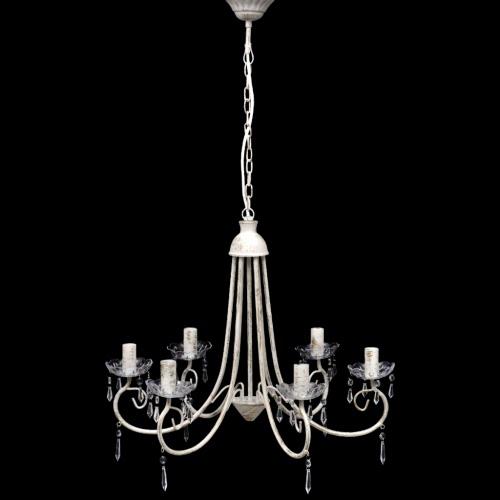 Подвеска потолочной лампа Elegant лампы Гнездо Люстры белые 6