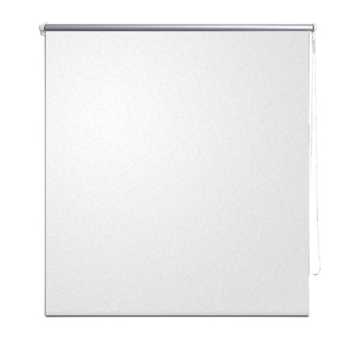 Roller Blind Blackout 40 x 100 cm White