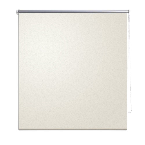 Roller Blind Blackout 40 x 100 cm Off White