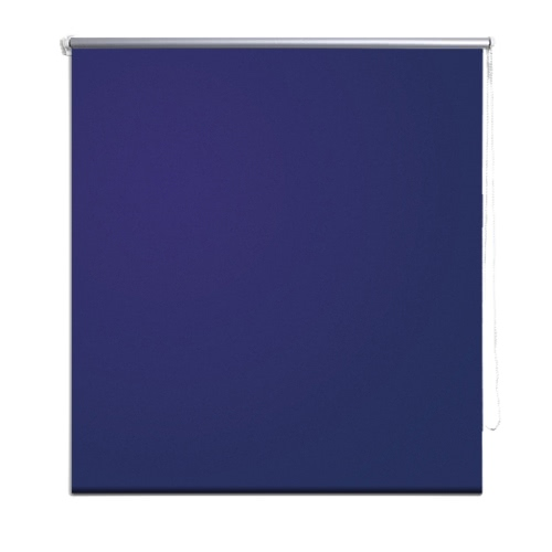 Roller Blind Blackout 40 x 100 cm Marine / Blue