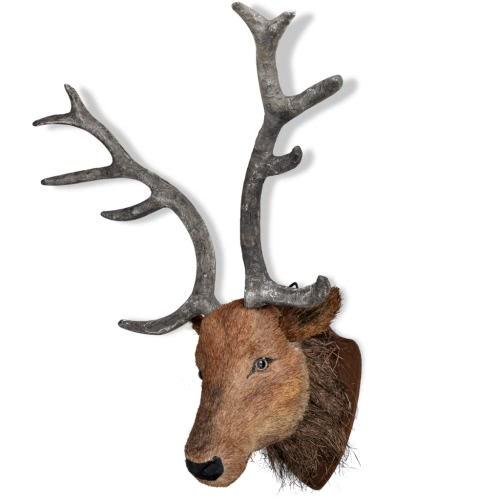 Deer Head Wall Mounted Decoration Natural Looking