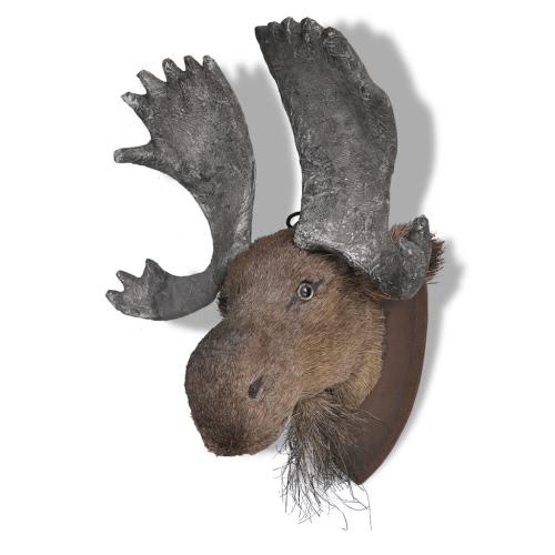 Moose Head Настенная Украшение естественный вид