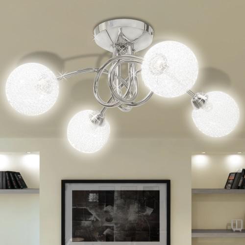Потолочный светильник с проволочной сеткой Оттенки 4 G9 Лампочки