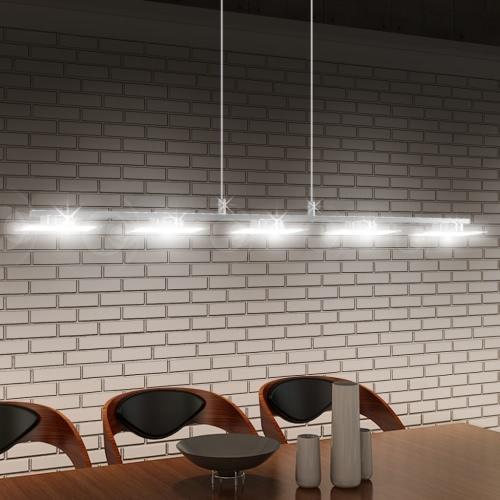 LED Hanging lamp Acrylic 100 cm Warm White 5 x 5 W