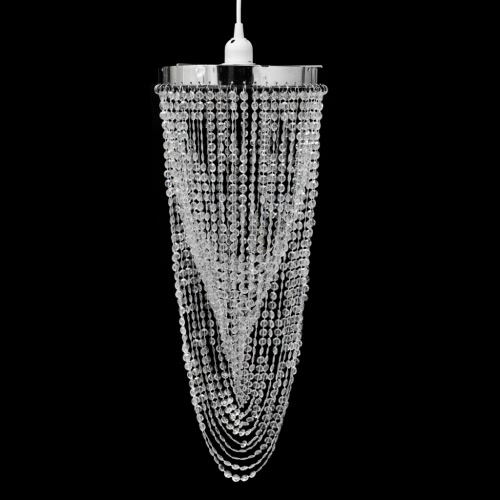 Crystal Pendant Chandelier 22 x 58 cm