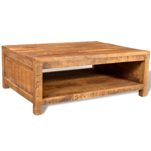 Antique-style Mango Wood Coffee Table