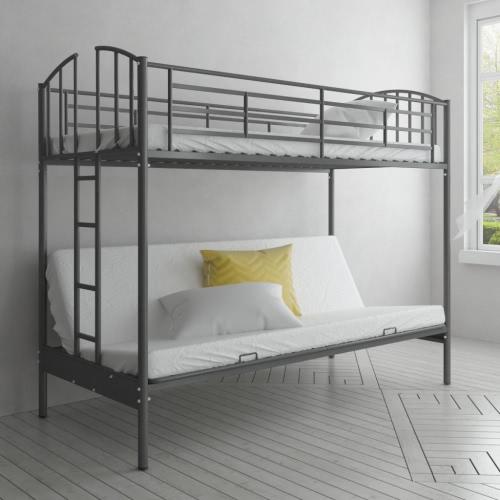 Estructura de cama futón literas para niños