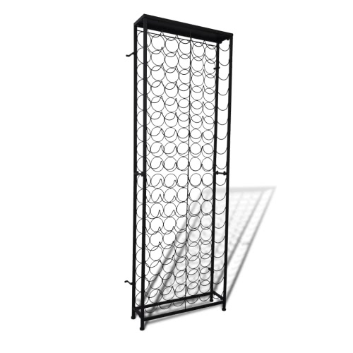 Metal Wine Rack for 108 Bottles