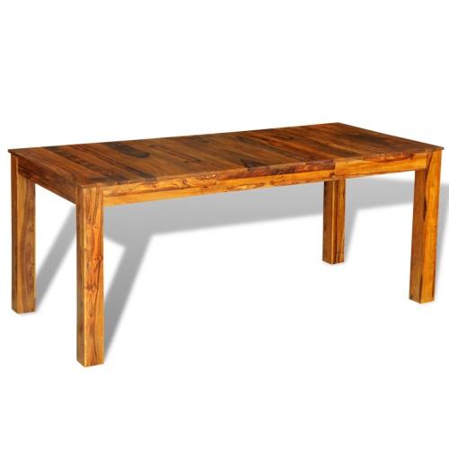 Sheesham Solid Wood Таблица Диннинг 180 х 85 х 76 см