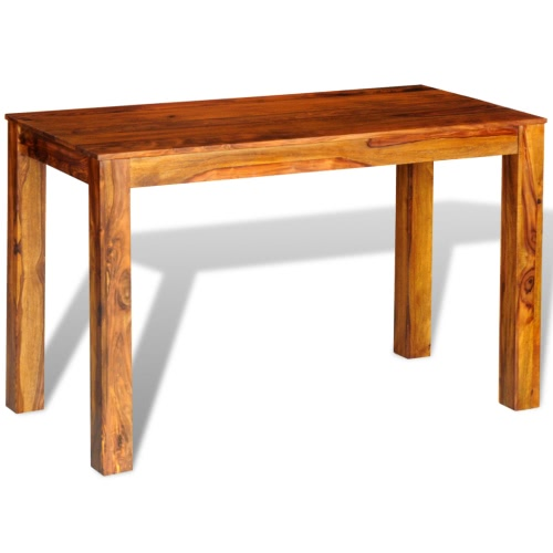 Sheesham Solid Wood Dining Table 120 x 60 x 76 cm