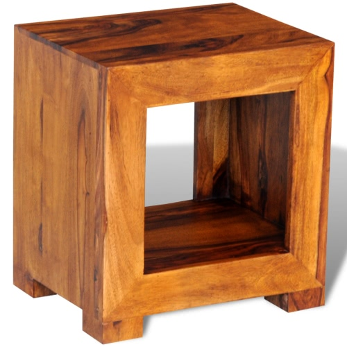 Sheesham Solid Wood Side Table 37 x 29 x 40 cm