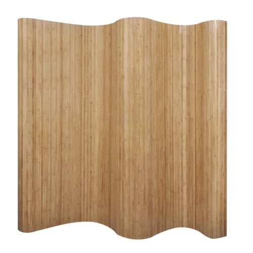 Room Divider Bamboo Natural