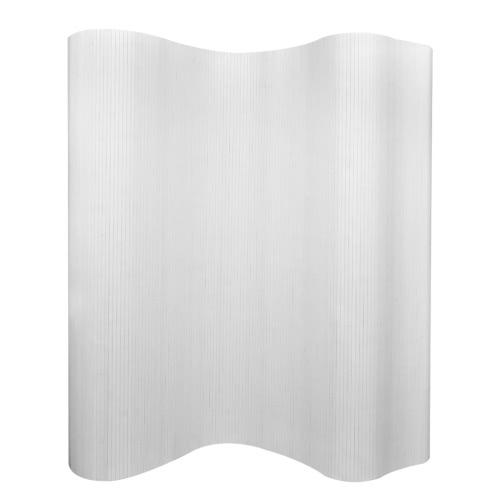 Room Divider Bamboo White