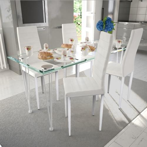 4 pcs Slim Line silla de comedor