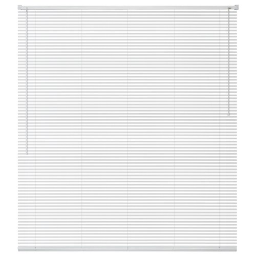 Window Blinds Aluminium 100x130 cm White