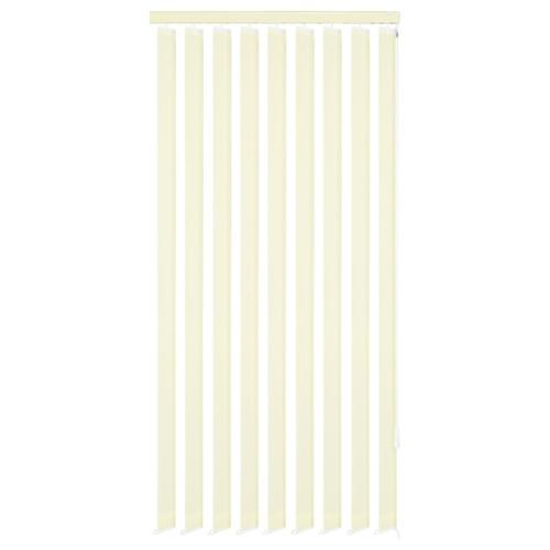 Vertical Blinds Tessuto crema 150x180 cm