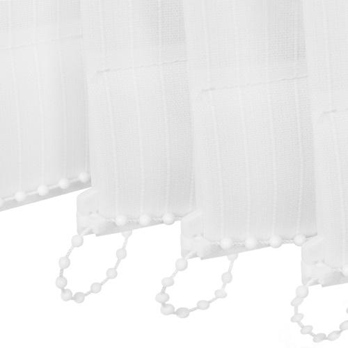Vertical Blinds Tessuto bianco 200x180 cm