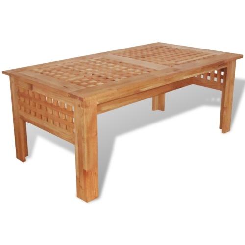 Tavolino da caffè  Solido noce Legno 100x54x40 cm