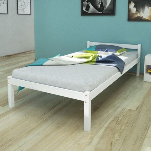 Letto singolo 3FT Single / 190x90 cm Pinewood White