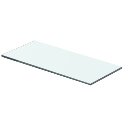 Shelf Panel Glass Clear 40x12 cm
