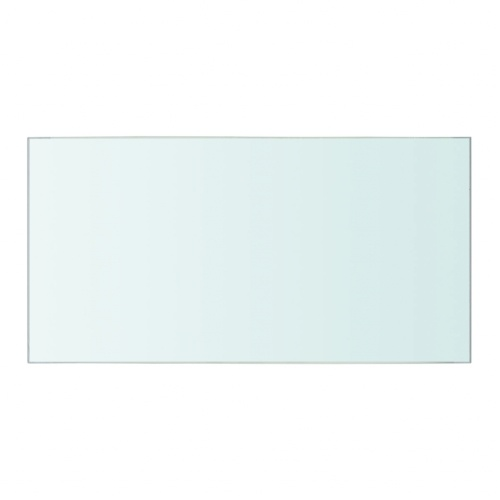 Shelf Panel Glass Clear 40x20 cm