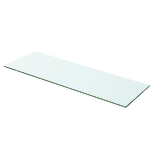 Shelf Panel Glass Clear 60x15 cm