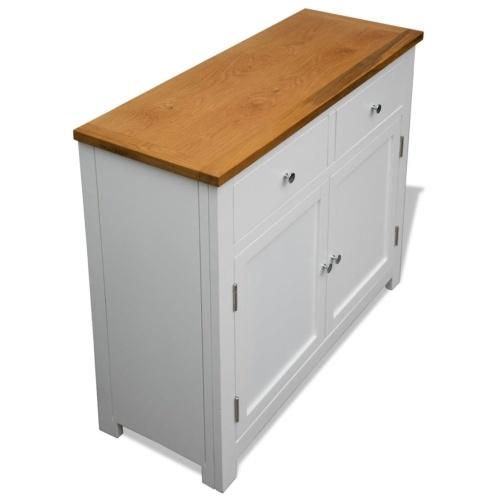 Sideboard 90x33.5x83 cm Oak