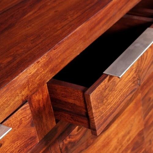 Буфет Solid Sheesham Wood 160x35x75 см