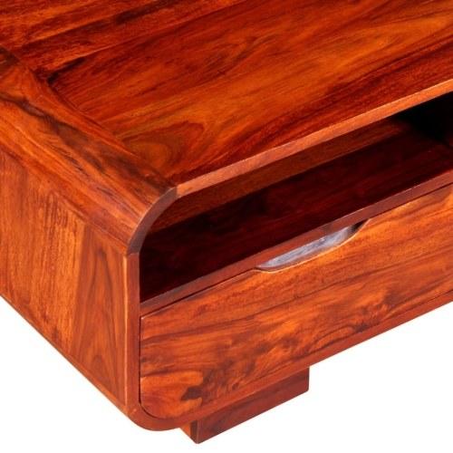 Журнальный столик Solid Sheesham Wood 90x40x35 см