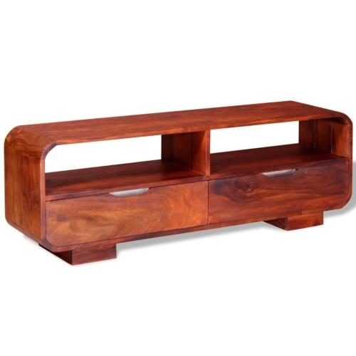 Телевизионный шкаф Solid Sheesham Wood 116x30x40 см