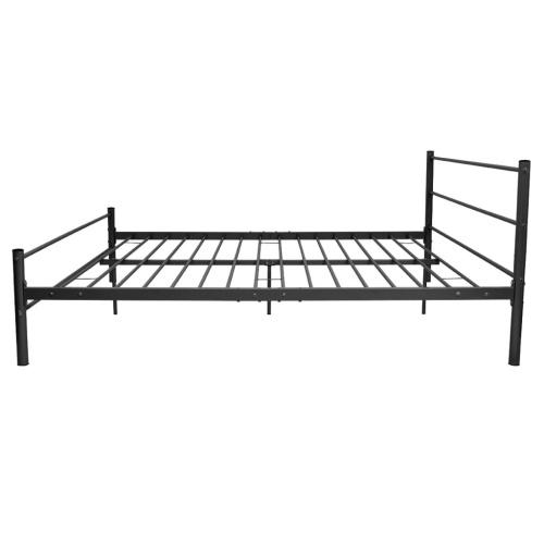 Кровать Рамка Металл Черный 160x200 см