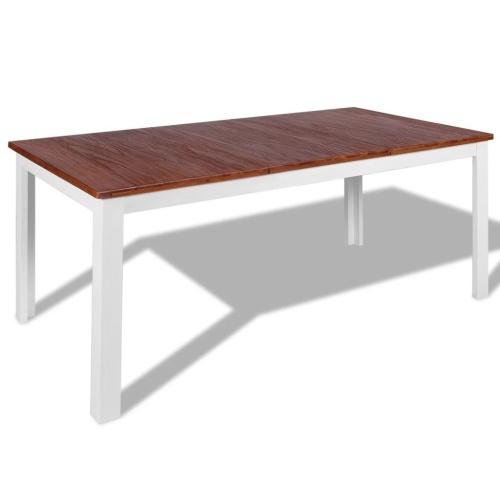 Обеденный стол Solid Teak Mahogany 180x90x75 см