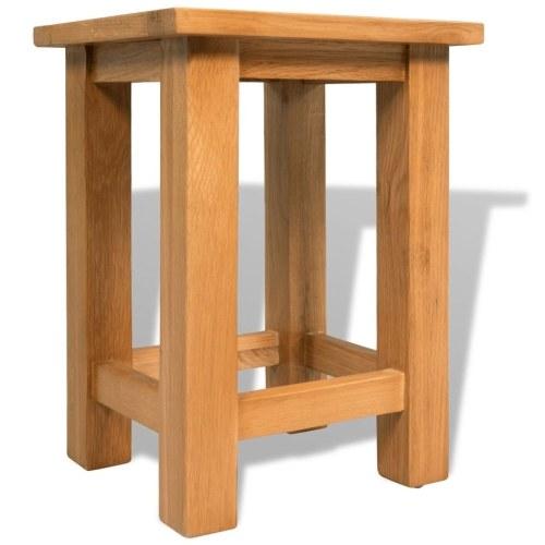 Конец стола Твердый дуб 27x24x37 см