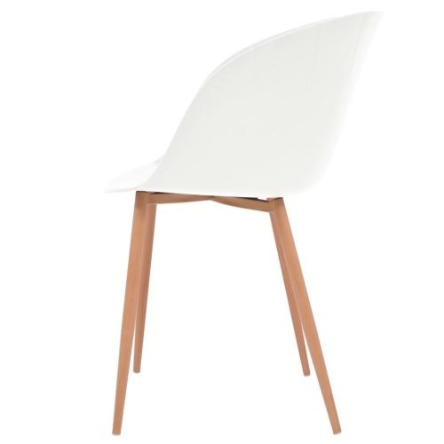 Обеденные стулья 4 шт. Белый