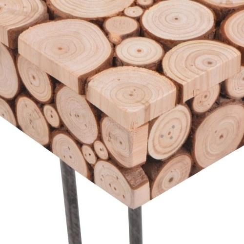 Боковой стол Подлинная древесина 47x47x44,5 см