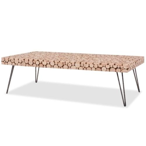 Журнальный стол Подлинная древесина 120,5x60,5x35 см