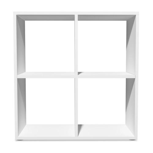 Книжная полка 70x29x72,8 см Белый