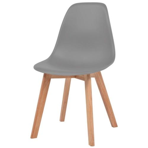 Обеденные стулья 2 шт. Серый