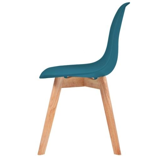 Обеденные стулья 6 шт. Бирюзовый