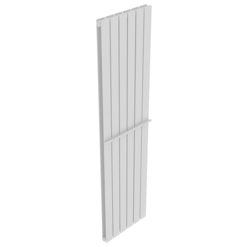 Heating Panel Towel Rack 465mm Heating Panel White 1800 mm Double